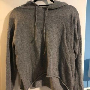 Brandy Melville knit hoodie